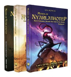 Call of Cthulhu RPG (7th Edition):  Masks of Nyarlathotep - Slipcase Edition (2018)